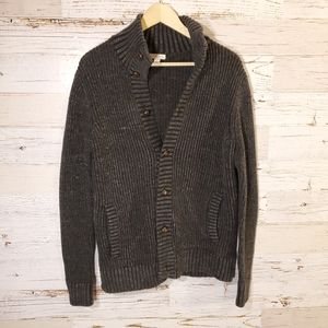 Merona heavy full button down sweater